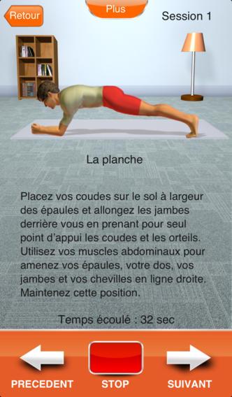 5 applications fitness et yoga gratuites les bons plans de laeti plus belle la vie petits for Application maison