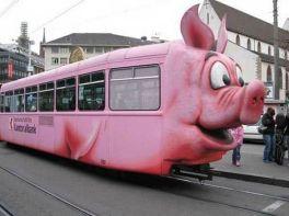 Tram cochon de Bâle
