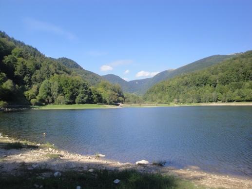 Lac de Kruth : baignade gratuite