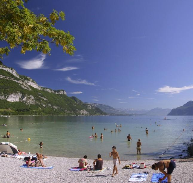 Lac du Bourget : baignade gratuite