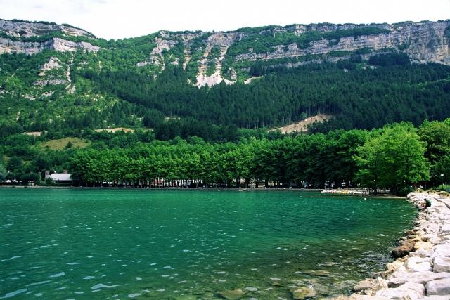 Lac de Nantua : baignade gratuite