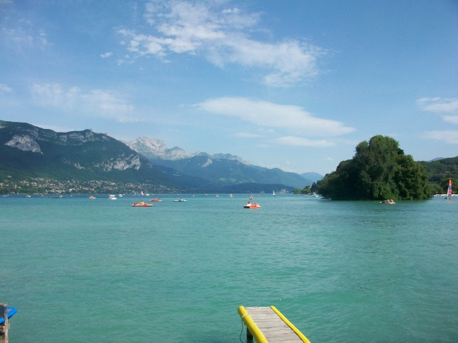 Lac d'Annecy : baignade gratuite