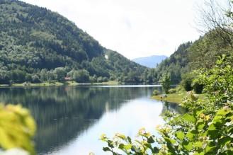 Lac de Kruth à côté du Camping du Schlossberg