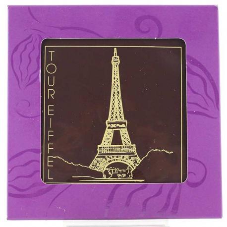 Carte postale en chocolat - Hélianthème