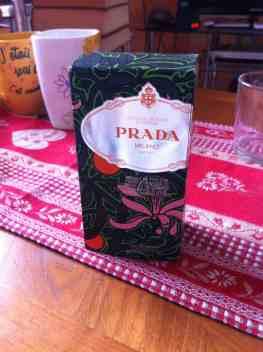 Parfum Prada neuf pas cher